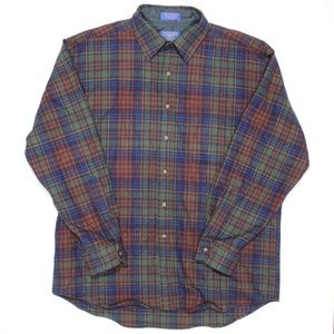 Pendleton Washable Wool Button Down Long Sleeve